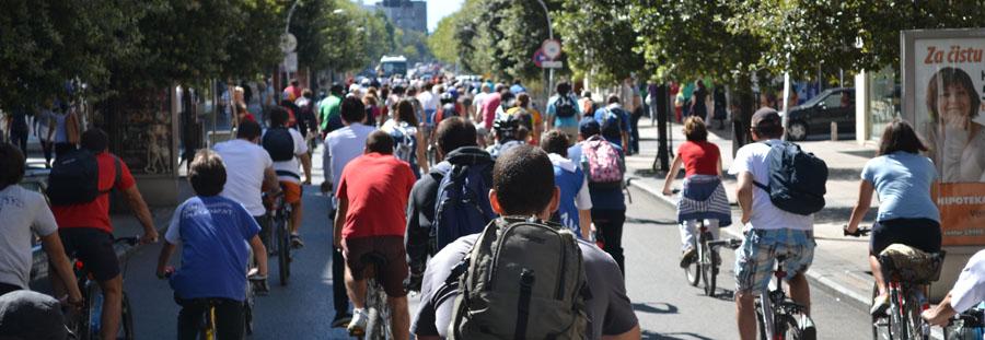 Iz kuhinje Biciklo.me: Critical Mass na podgorički način! (26.10.2012.)