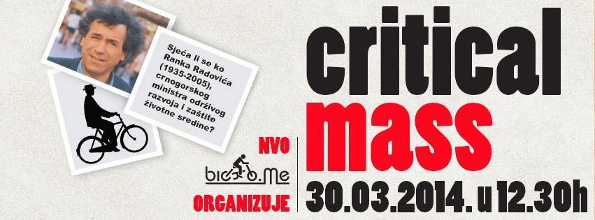 NVO Biciklo.me: Critical Mass 2014
