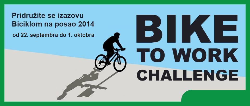 Biciklom na posao – Bike2Work Challenge
