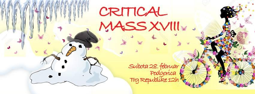 Februarski Critical Mass u znaku vjesnika proljeća