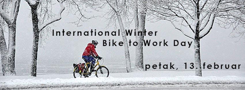 Međunarodni zimski dan bicikliranja do posla