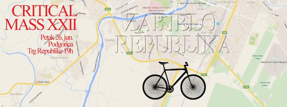 Biciklo.me za biciklističku Zabjelo Republiku