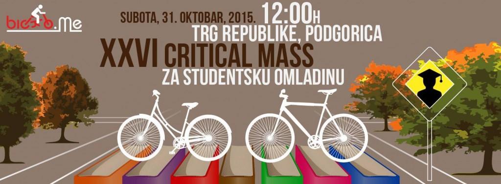 Critical Mass za studentsku omladinu