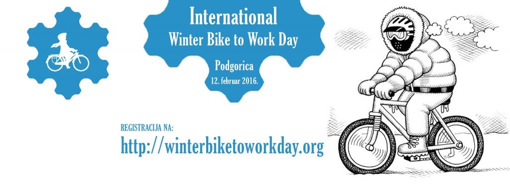 Biciklom na rabotu i zimi
