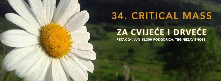 Critical Mass za cvijeće i drveće
