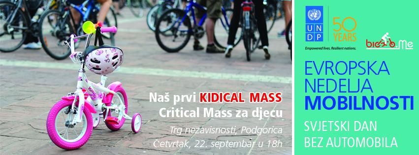 Prvi Kidical Mass u Podgorici