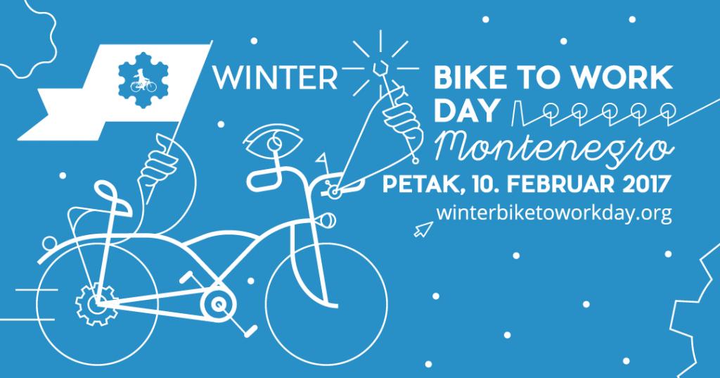 Međunarodna akcija biciklom na posao #Winterbiketoworkday 2017.