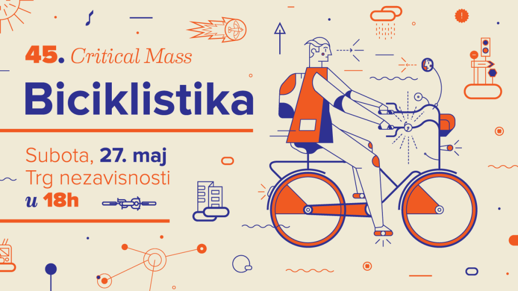 45. Critical Mass – Biciklistika