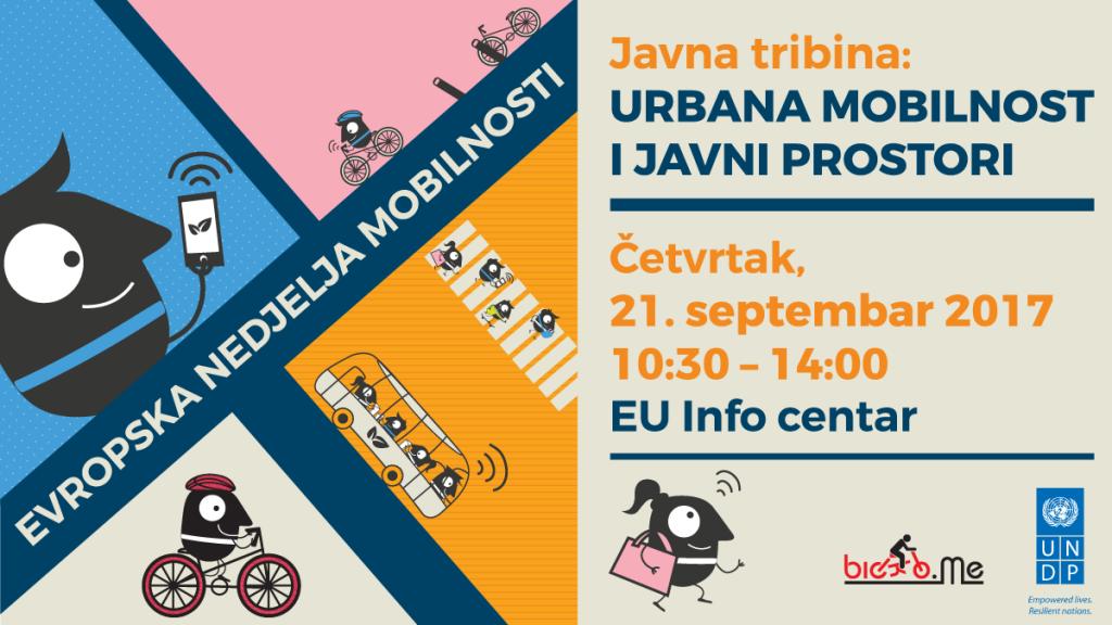 Evropska nedjelja mobilnosti 2017: urbana mobilnost, javni prostori, EuroVelo