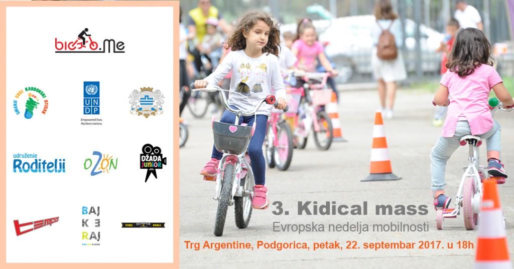 3. Kidical Mass: Evropska nedjelja mobilnosti