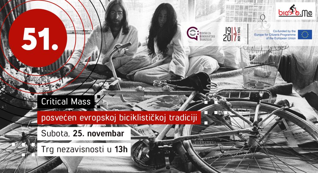 51. Critical Mass, posvećen evropskoj biciklističkoj tradiciji