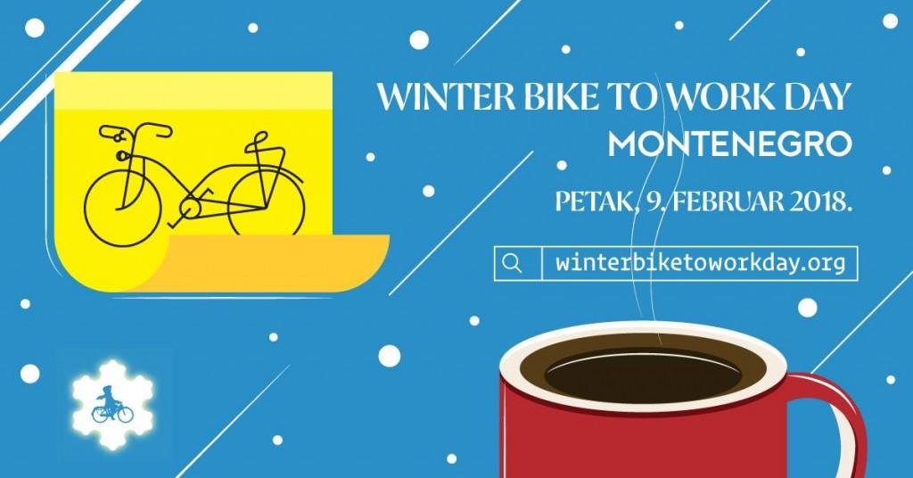 Biciklom na posao #Winterbiketoworkday 2018.