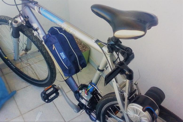 Kako sam sebi napravio električno biciklo