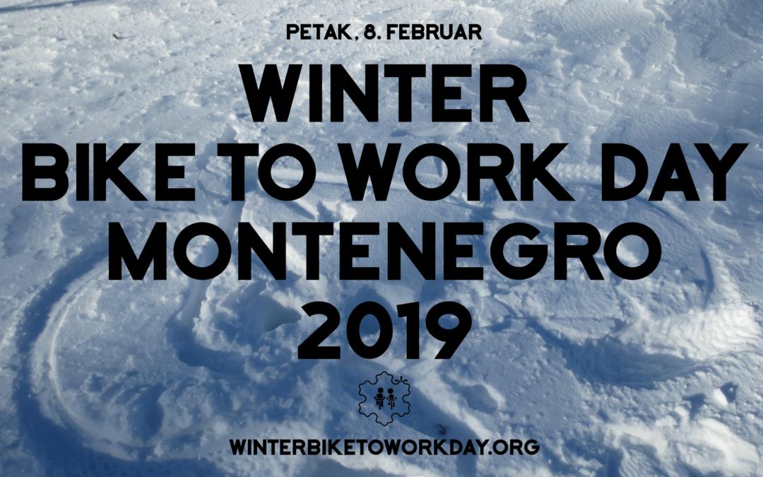 Biciklom na posao #Winterbiketoworkday 2019.