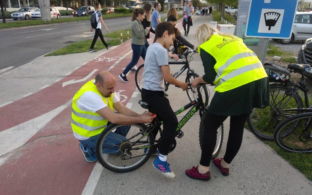 Biciklistička svijetla na dar