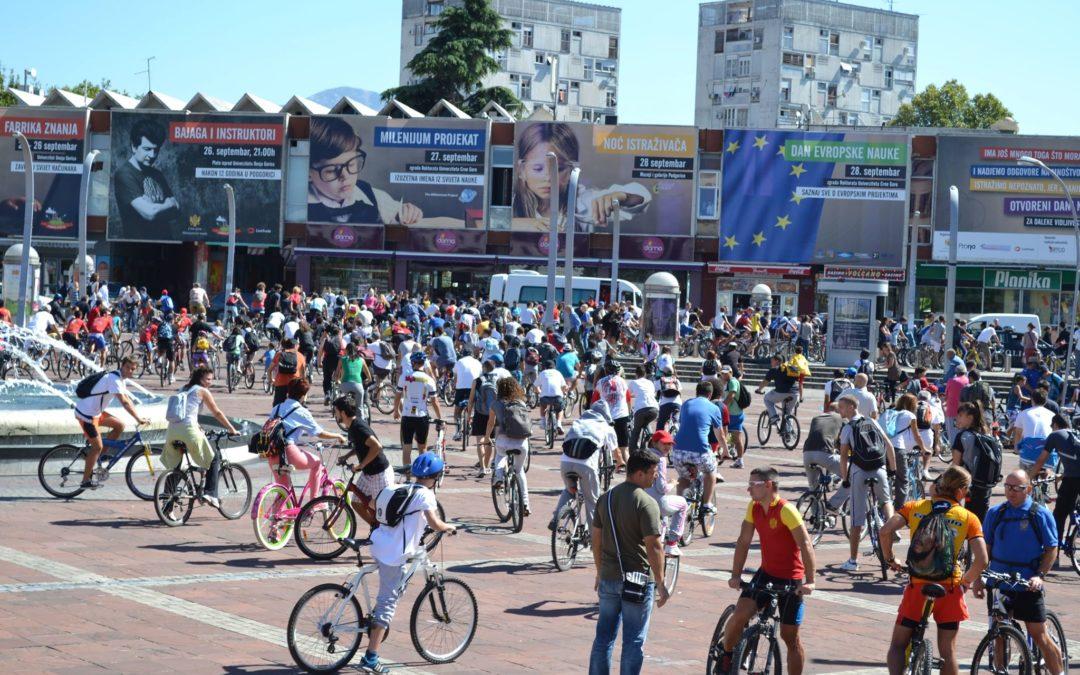 Anketa: Uslovi za vožnju biciklom u Podgorici