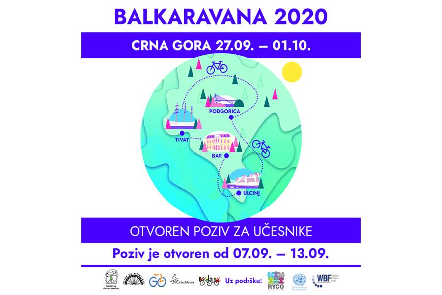 Balkaravana 2020. – Biciklističke ture – Javni poziv za učesnike