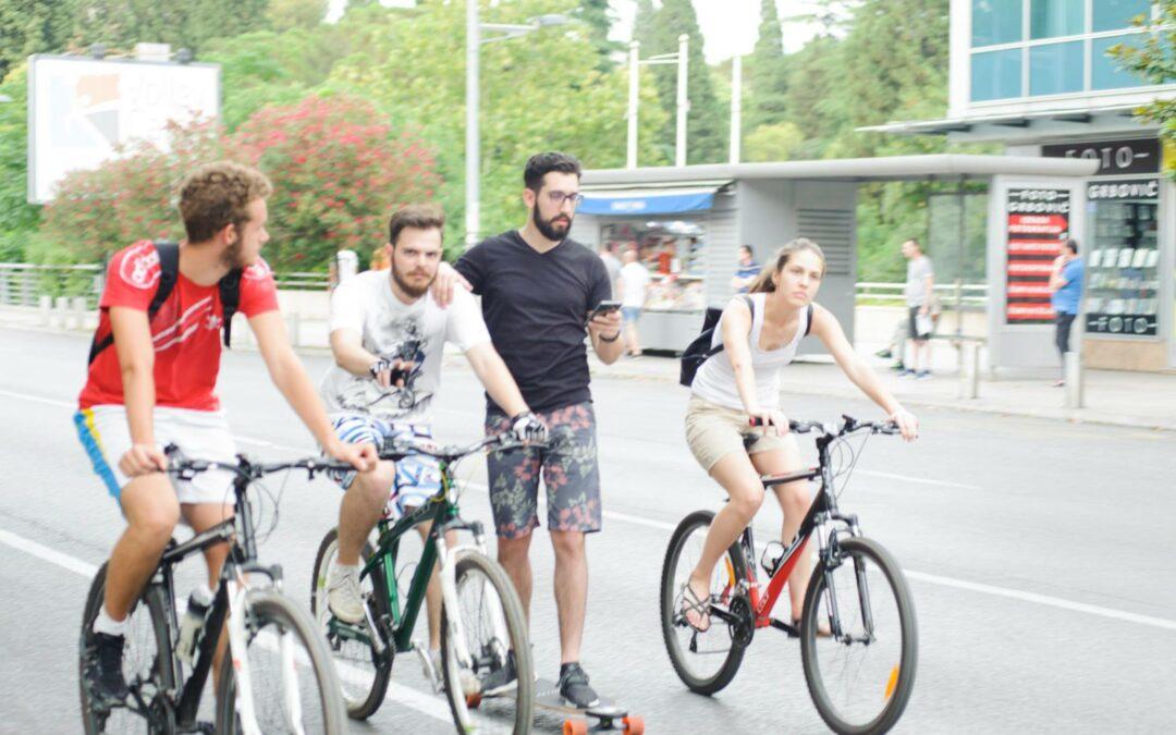 Evropska nedjelja mobilnosti 2021: čuvajte zdravlje i krećite se aktivno